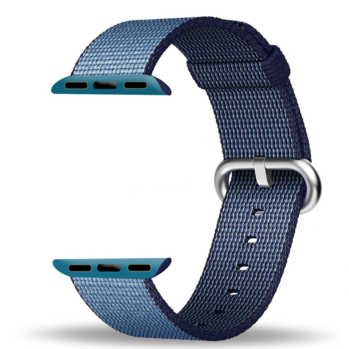 Apple Watch Band Series 1 Series 2, TitanFan Newest Fine Woven Nylon Strap Replacement Wrist Band for 2016 Apple Watch iWatch (Navy 38mm)