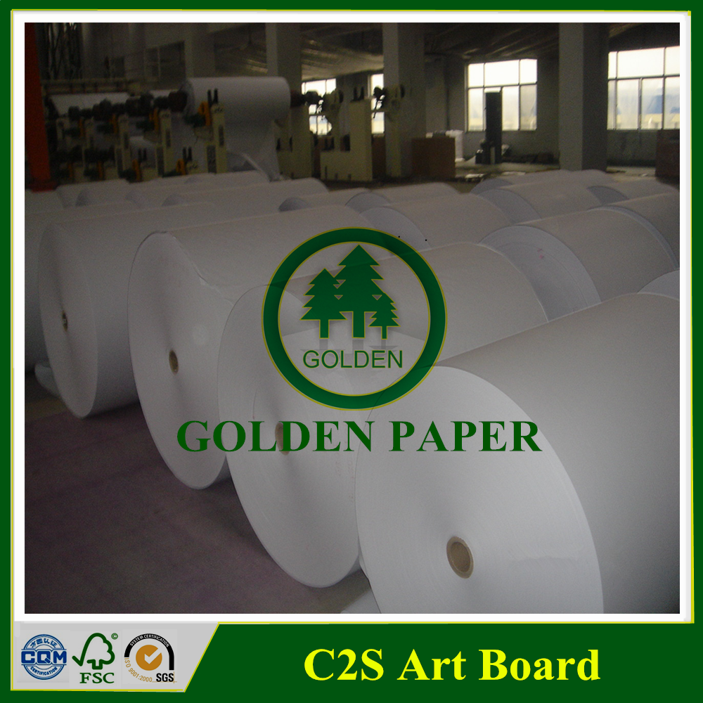 80g 100g 135g C2S Art Paper A0 A1 size in sheet