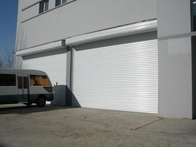 High Wind Resistance spiral rapid industrial rolling door