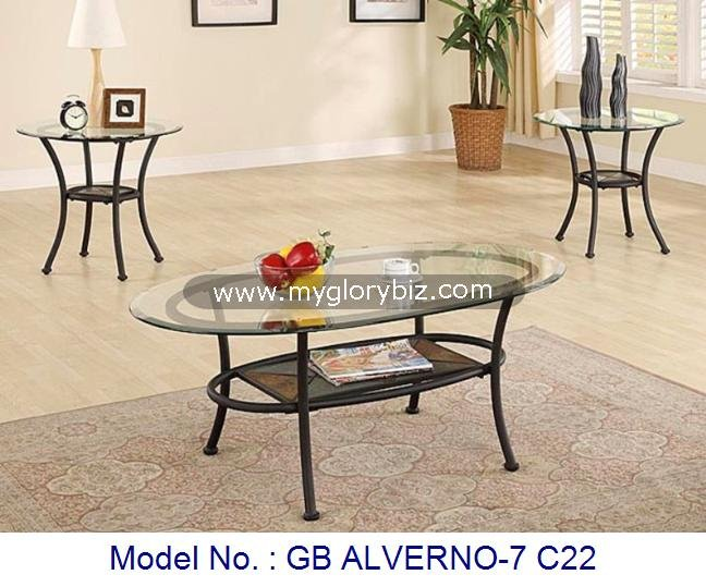 Living Room Furniture Glass Tables Sets For Coffee And Side,Glass Metal  Stone Coffee + End Table,Coffee Table Set Living Room - Buy Cheap Coffee  Table ...