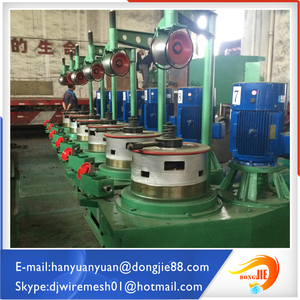 Heavy duty hebei supply New Automatic pulley type wire drawing machine