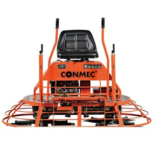 CONMEC30 Inch Electrical Start Blade Concrete Ride on Power Trowel 1560 working diameter with CE