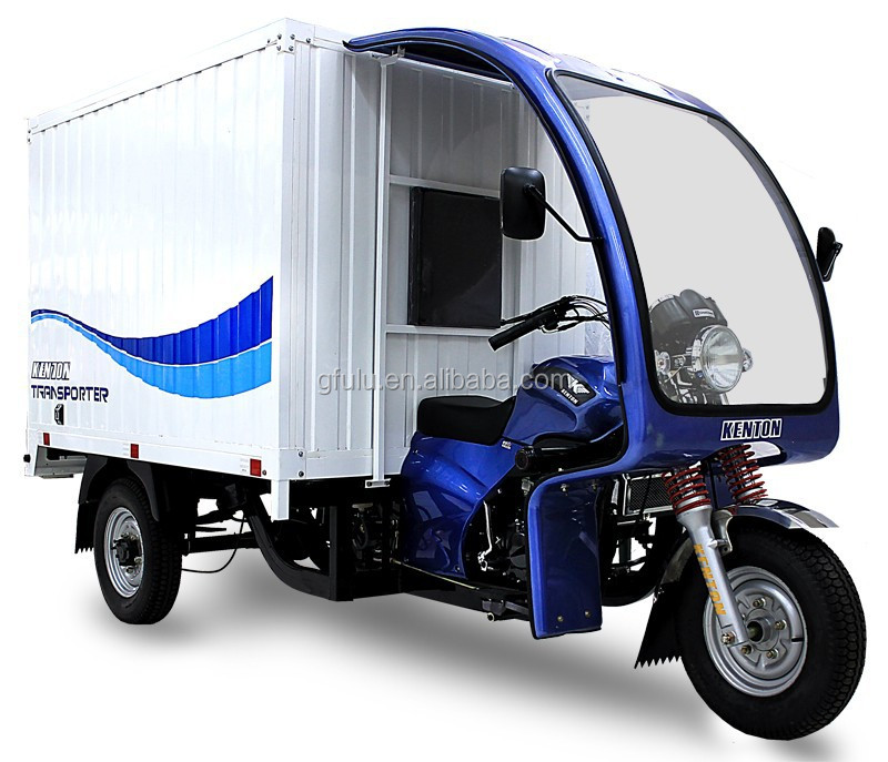 Fulu Brand Cargo container cargo tricycle 200 or 250cc