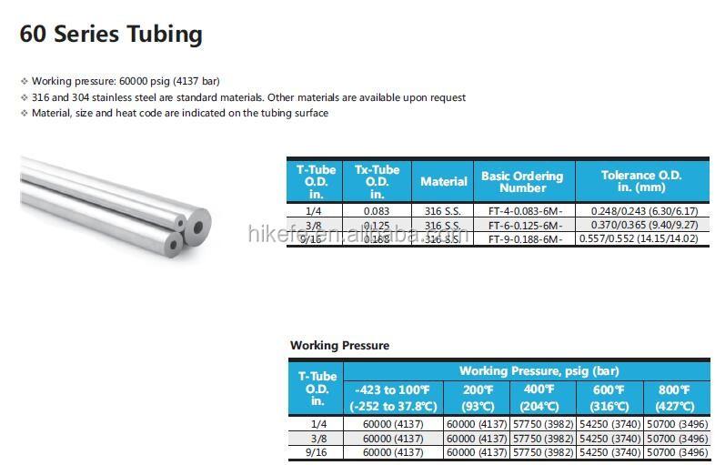 60000 Psi Bar High Pressure 316 Stainless Steel Cross 4 Ways 1/4