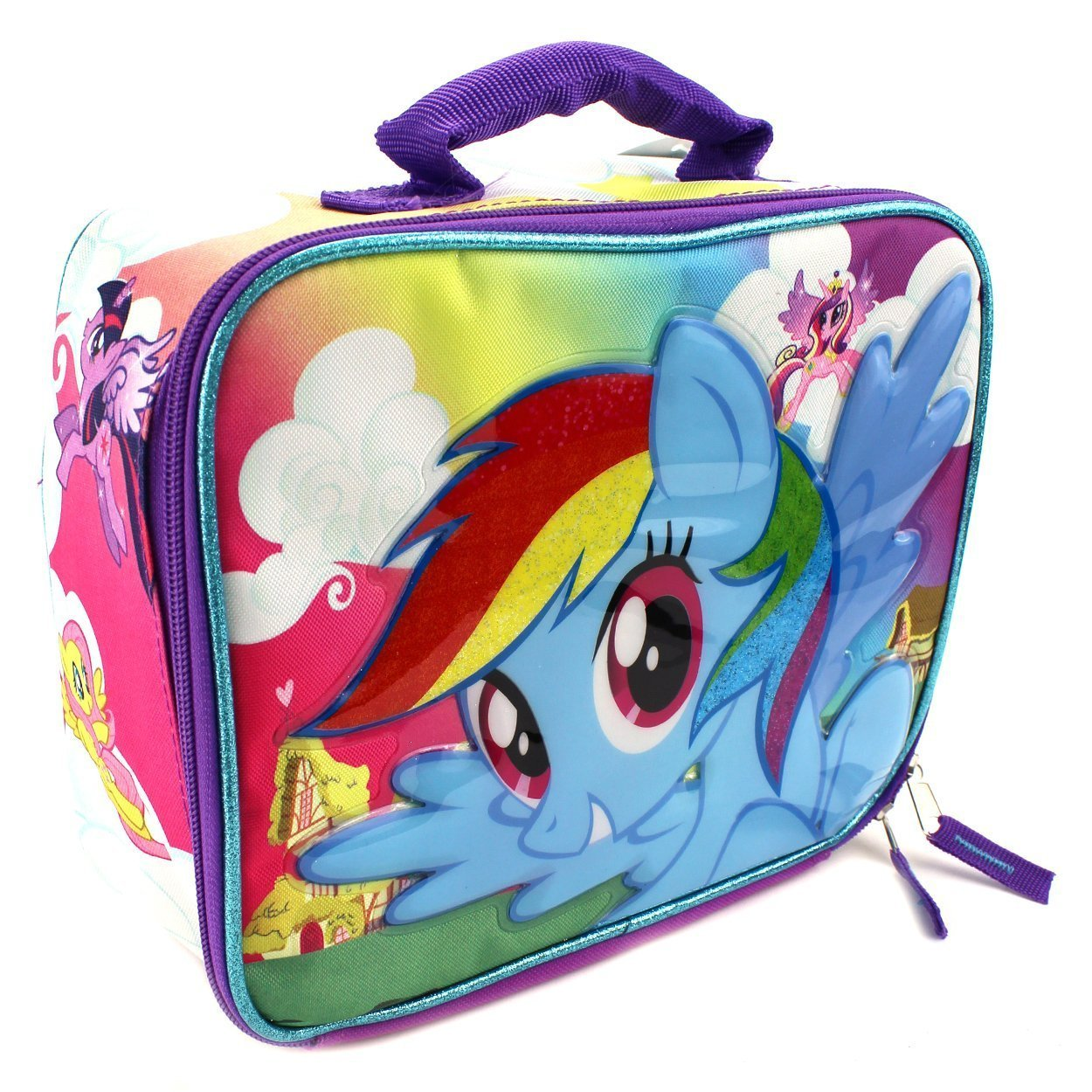 8439da0202 Get Quotations · My Little Pony Soft Lunch Box (Rainbow Dash)