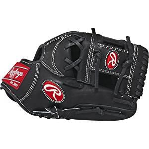"Rawlings PRONP5JB Heart of the Hide Players Series Baseball Gloves, 11.75"""