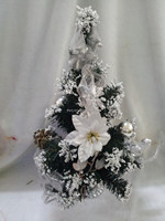 Best selling beautiful artificial mini wooden decoration Christmas tree