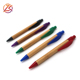 wooden bamboo printing wood pens high quality promo gift eco friendly ballpoint pen