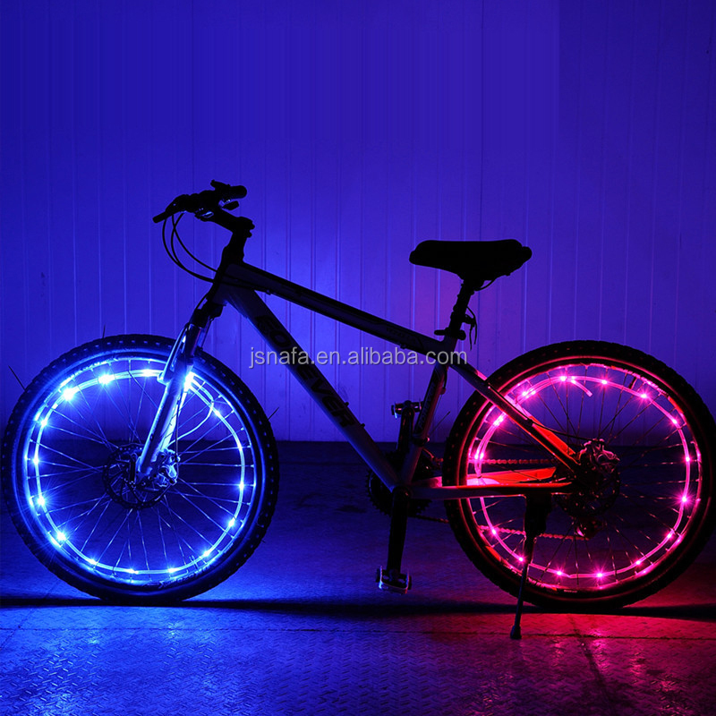 Bicycle Accessories Wheel Spokes Lights Spoke Lamp Bike Wheel Lights