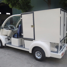electric two seats passenger mover, with cargo box,electric vehicle