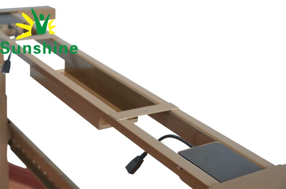 Électrique hauteur bureau jambes meubles colonne télescopique