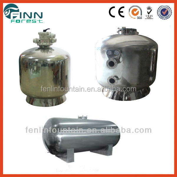 Used Stainless Steel Sand Filter Forswimming Pool