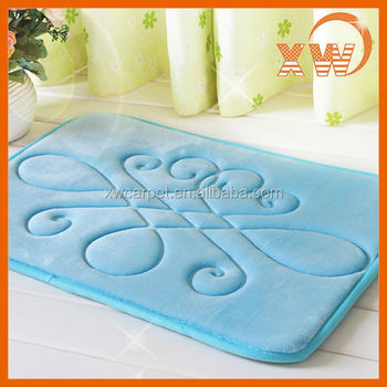 made in china hot sale curved bath mat