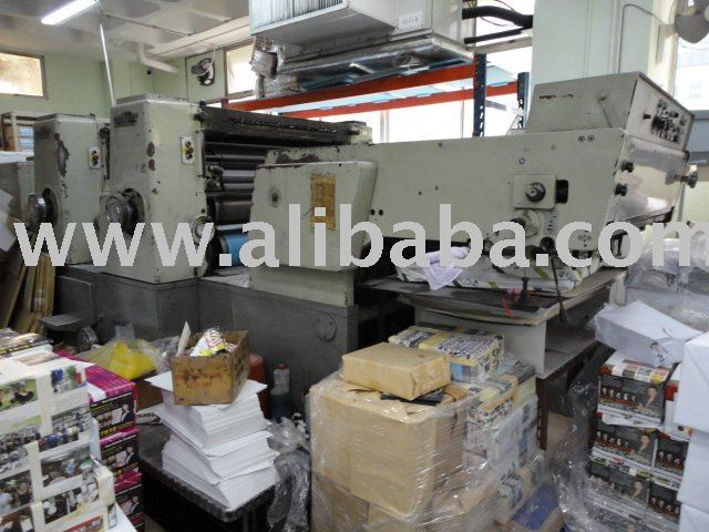 Miller TP36S Offset Perfecting Printing Machine