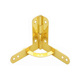 HG13003-1 95 Degree Gold plated Wooden Box Hinges