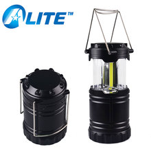 Outdoor Hand Camping Light COB Lantern LED AA Battery Lantern
