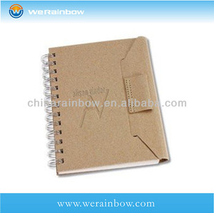 wholesale eco friendly paper recycled notebook