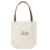 Fashion design leather bag handles natural hand made cotton tote bags
