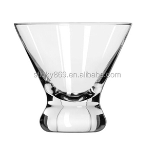 sum45 2014 new design hot selling crystal cocktail glass cup/cocktail glassClear shot martini cocktail glasses Martini Glasses