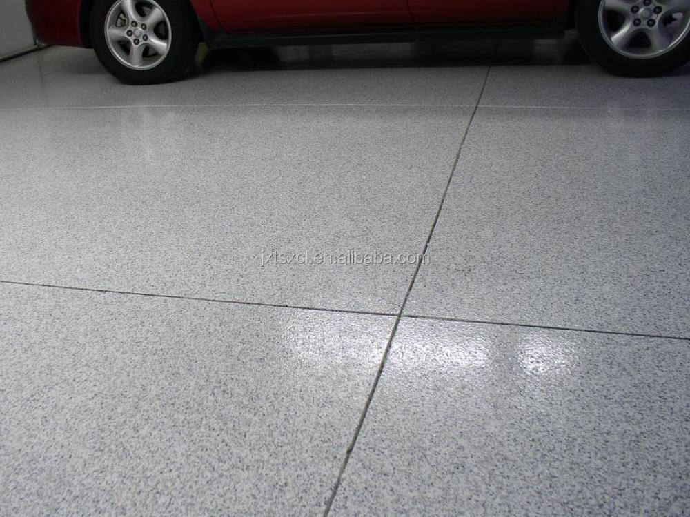 Epoxy Floor Paint With Decorative Colored Vinyl Flake