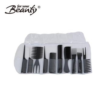 10 Pcs Professional Styling Comb Set Salon Hairdressing Styling Tool Hair  Cutting Comb Kit Great For All Hair Types \u0026 Styles , Buy 10 Pcs  Professional
