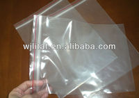 clear zip lock bags for large size