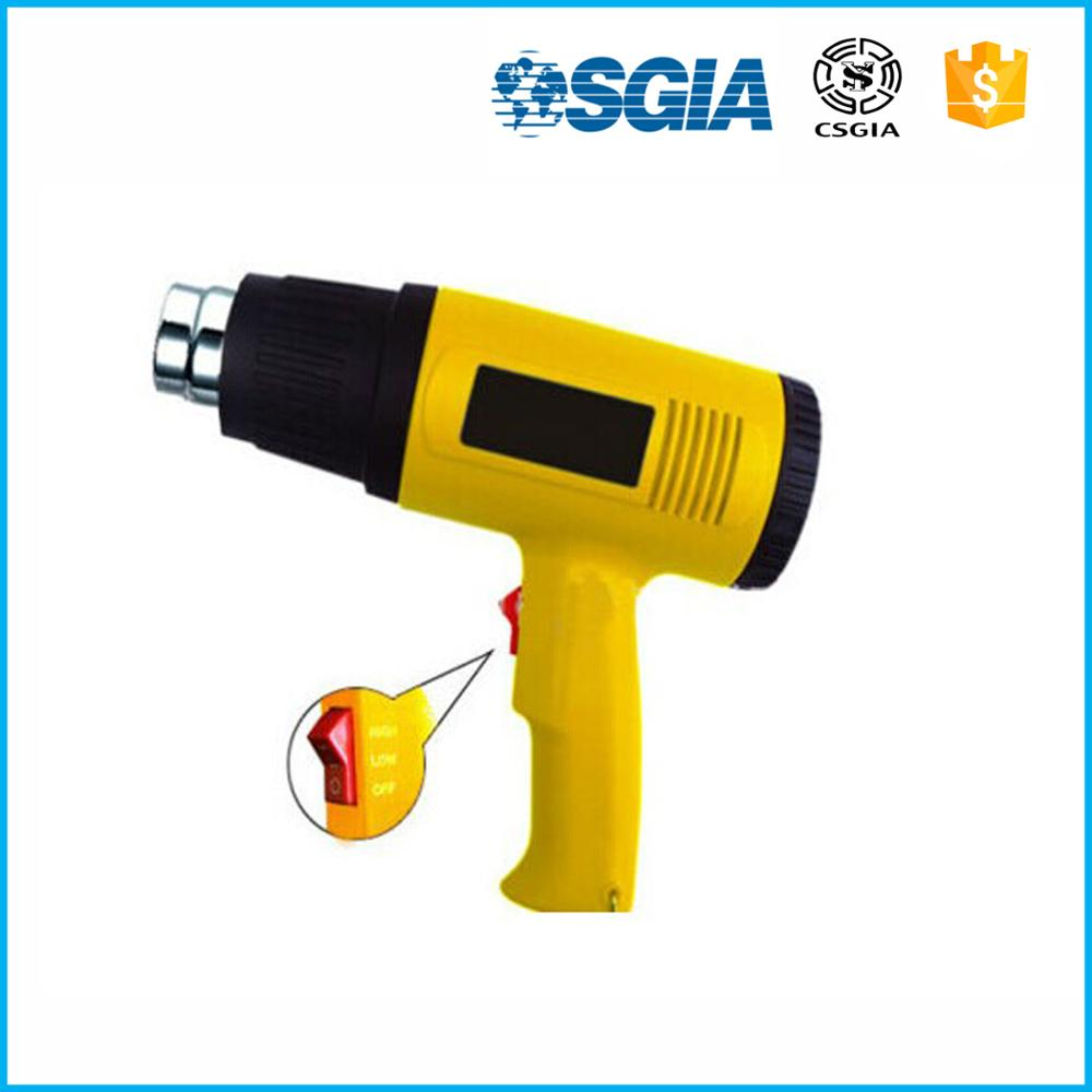 Temperature Adjustable Feature and 110V Rated Voltage heat gun