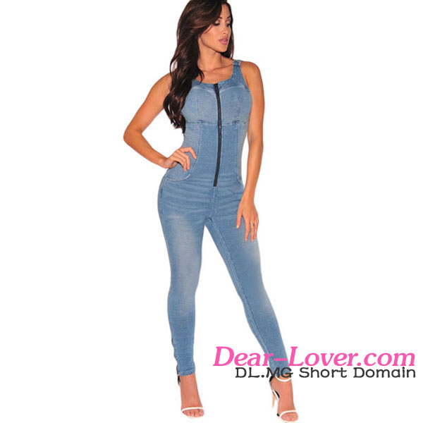 Denim Jumpsuit Women, Denim Jumpsuit Women Suppliers and ...