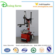 Manual or automatic tyre changing machine