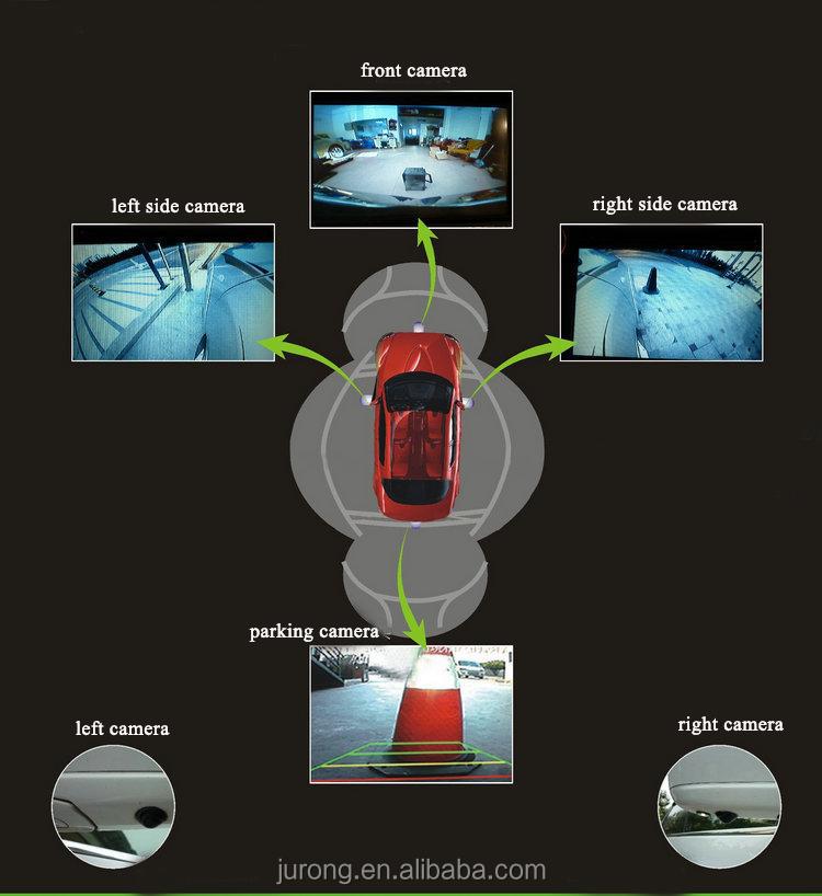 360度鳥ビューカーセキュリティカメラシステム 車用ブラックボックス 製品id 60099243903
