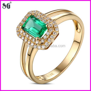 Chinese Manufacturers Fashion Metal Plated 18k Gold Ring Designs