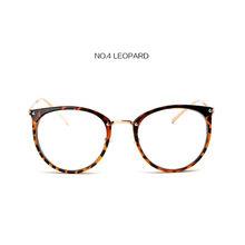"""YOOSKE большие круглые прозрачные очки для мужчин и женщин, оправа для очков, прозрачные оптические оправы для очков """"кошачий глаз""""(Китай)"""