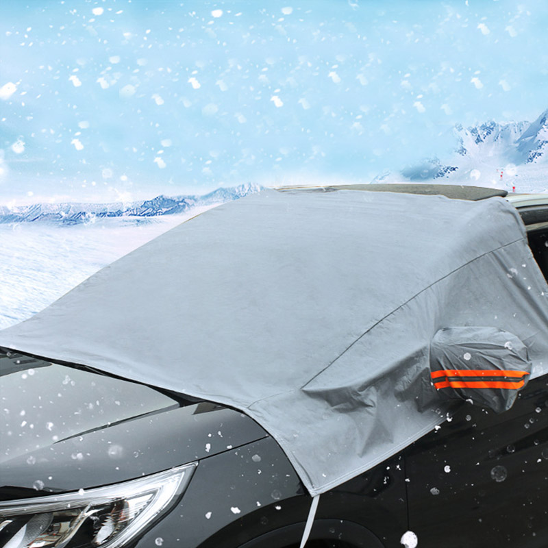 Four seasons Model Universal Windshield Sunshade Car Snow cover for Car and  SUV 12d725019ba