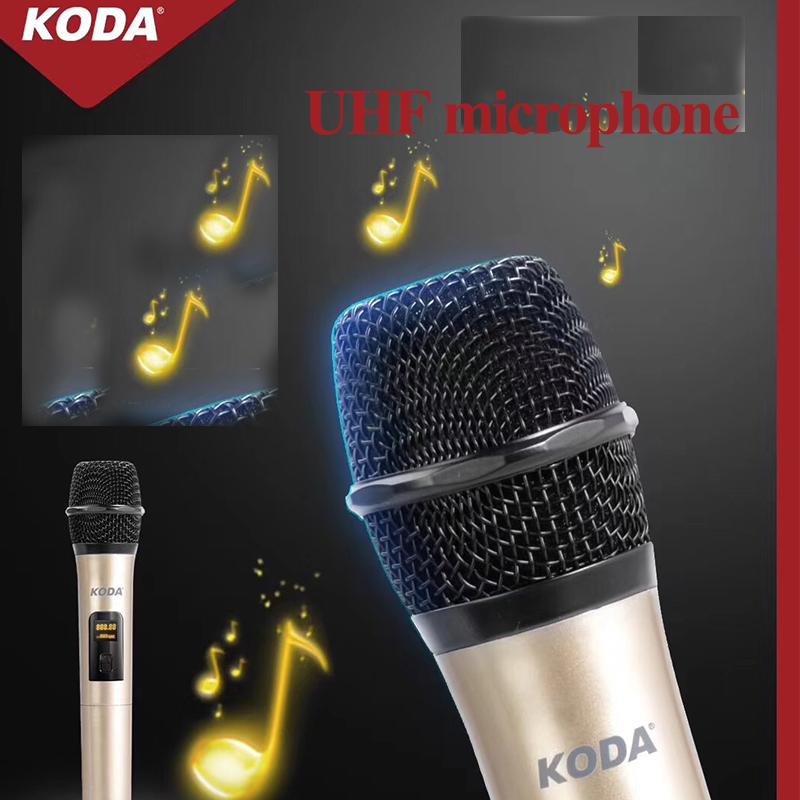 Draadloze outdoor batterij trolley karaoke microfoon en luidspreker