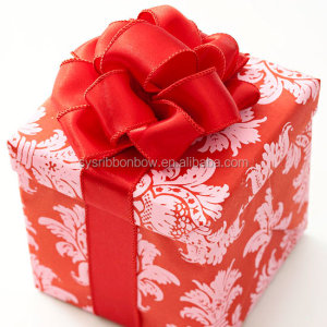 pre tied gift wrapping ribbon bows elastic