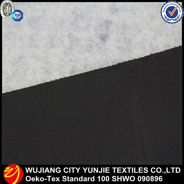 polyester oxford fabric bonded with cotton