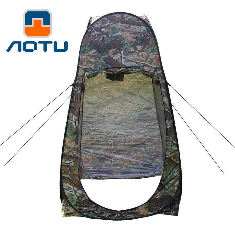 Concavo convex outdoor products household leaves camouflage changing clothes shower bird watching mobile toilet bottomles