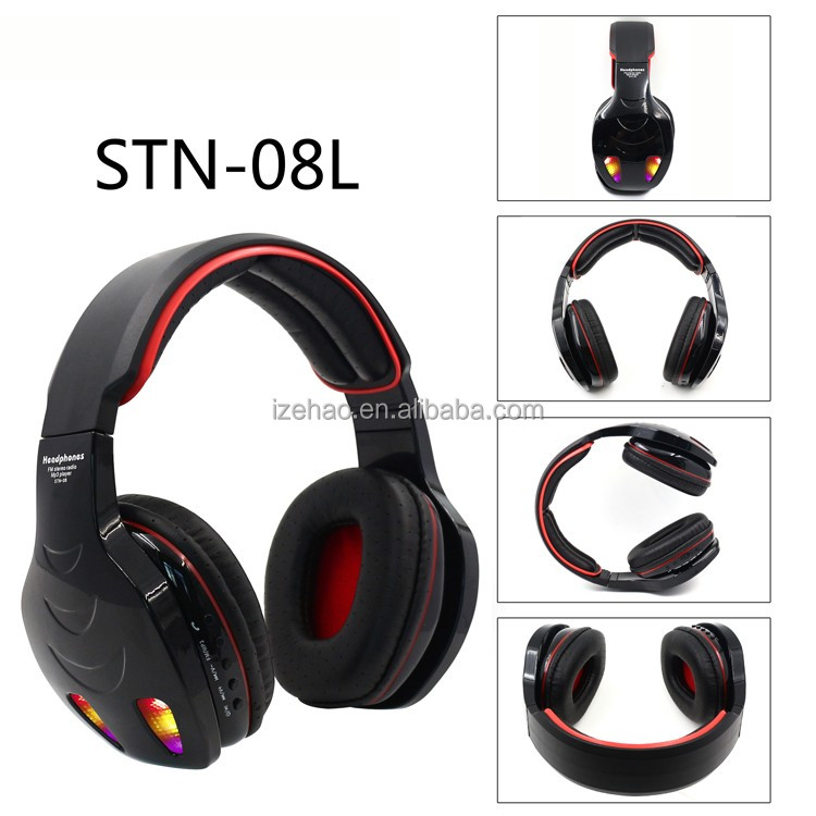 Factory wholesale v4.0 bluetooth stereo headphone wireless earphone easy to carry