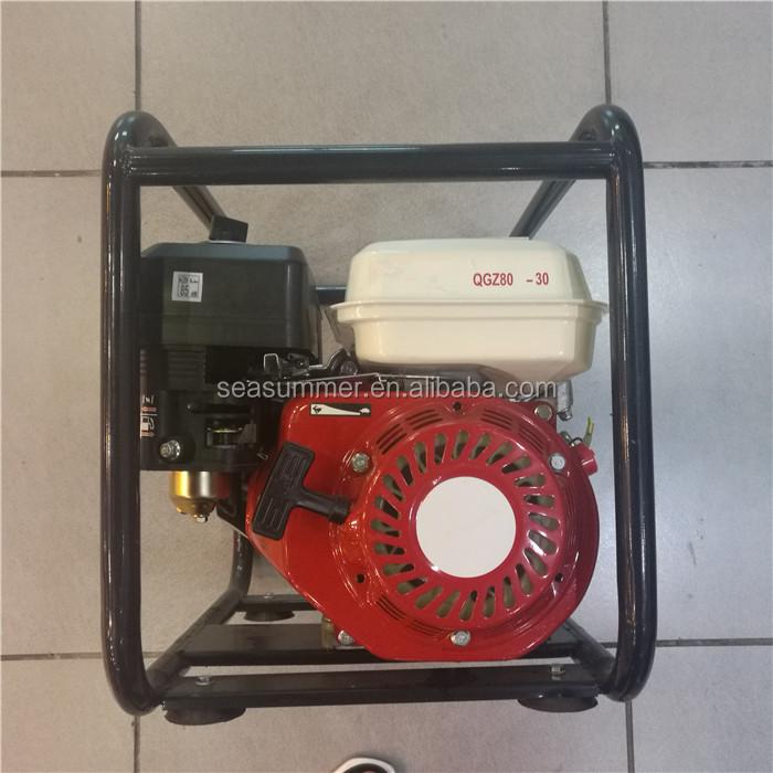 Hochdruck-landwirtschaft liche Wasserpumpe/2 Zoll kleine Benzin pumpe Maschinen QGZ50-30