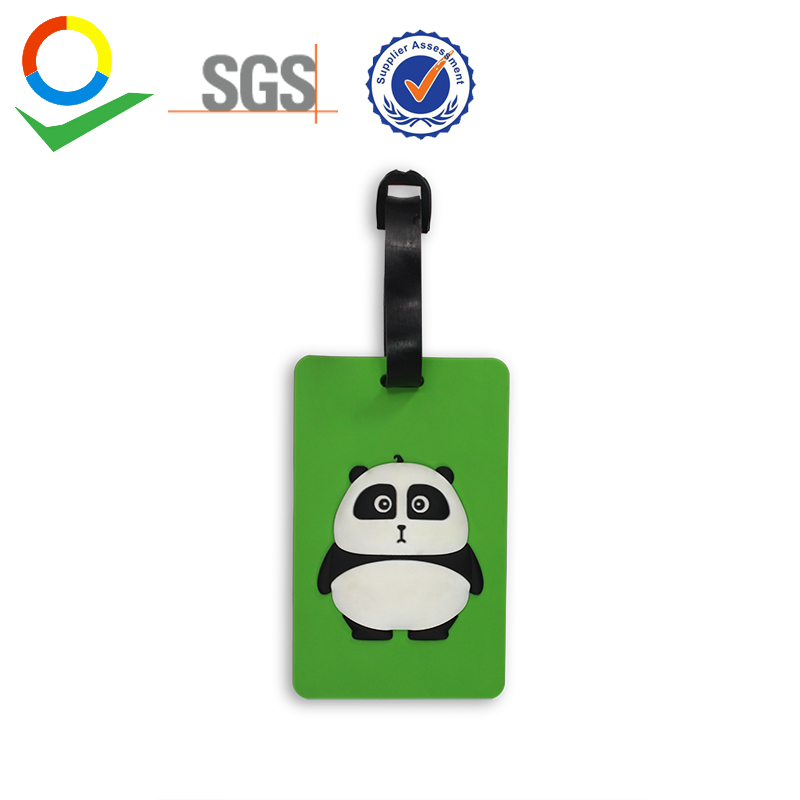 Travel Accessories Travel Accessories Panda Creative Luggage Tag Horse Cartoon Silica Gel Suitcase Id Addres Holder Baggage Boarding Tags Portable