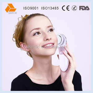 Micro current facial clean and refresh beauty device