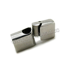 Jewelry Accessories Parts, Magnetic Stainless Steel Cord Clasp