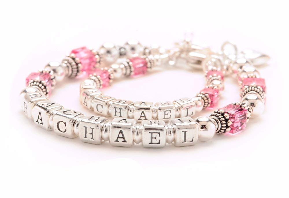 68345889e83e7 Buy Mother & Daughter Matching Bracelets - Personalized Sterling ...