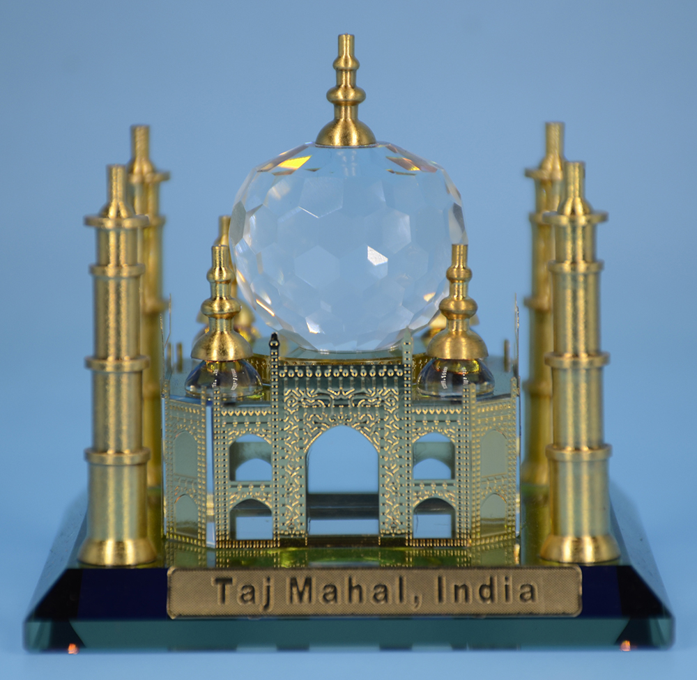 New Design Wholesale Price Crystal Marble Taj Mahal Model