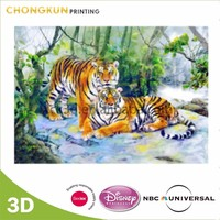 Disney Audit Factory Custom 3d animated picture of tiger