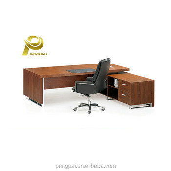 Luxury Wooden Double Sided Office Desk Sets With Drawers