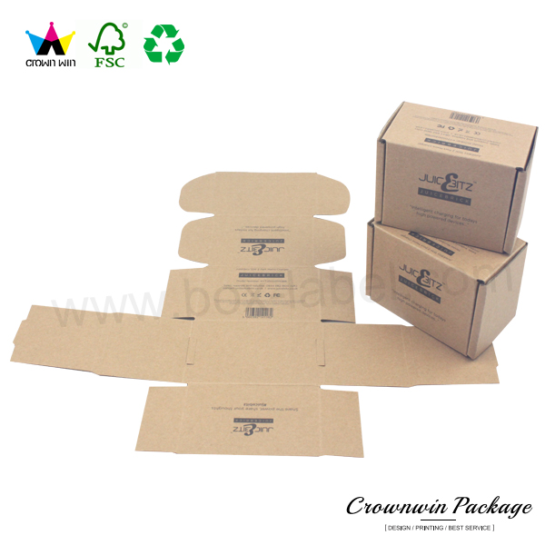 2017 New Product Folding Corrugated Paper Box Custom Printed