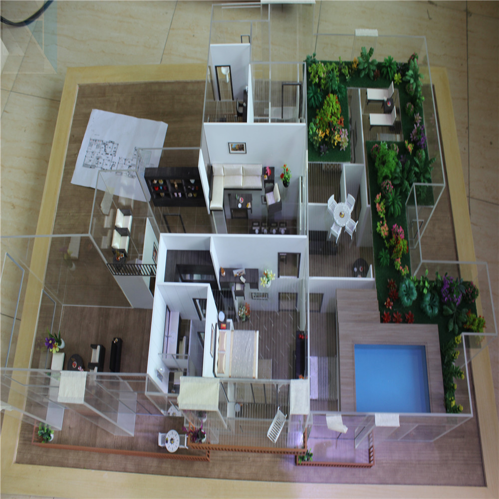 Apartment Model Builder In China Internal Layout Scale Model ...