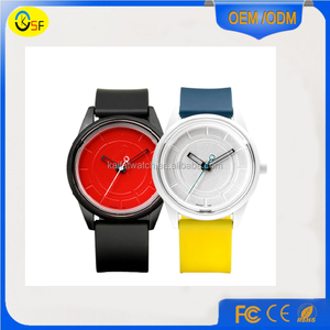 cheap slim multicolor silicone rubber watch design your own smart jelly Q&Q watch