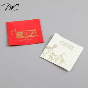 Top Quality Custom High Density Supreme Woven Label For Clothing